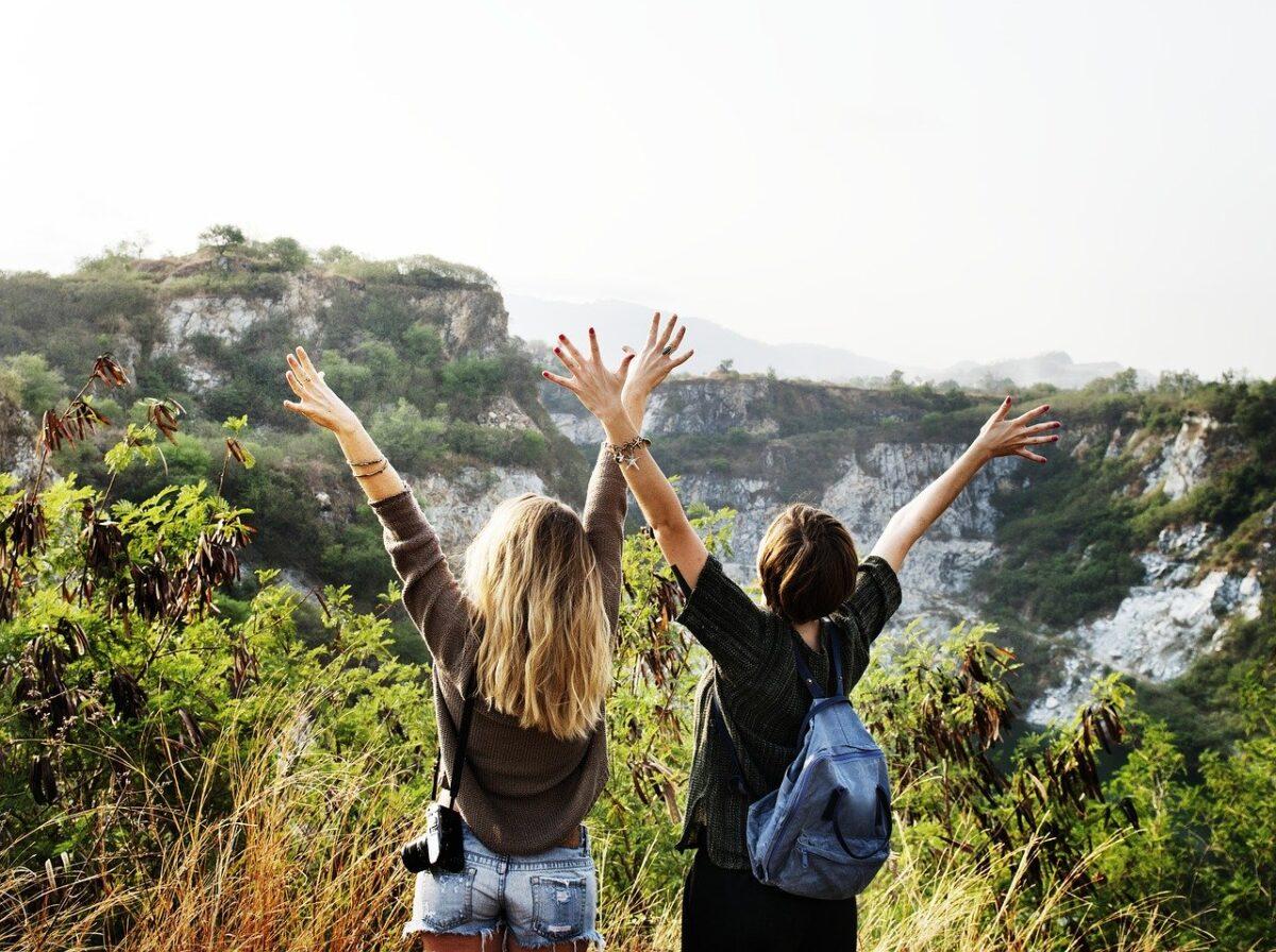 Vackra vandringar är ett sätt att upptäcka nya platser.