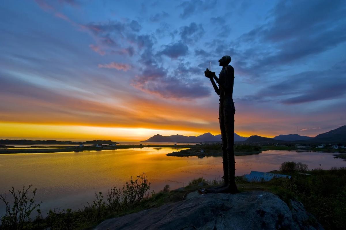 Lofoten är ett av de mest populära resmålen i Norge enligt Visit Norway.