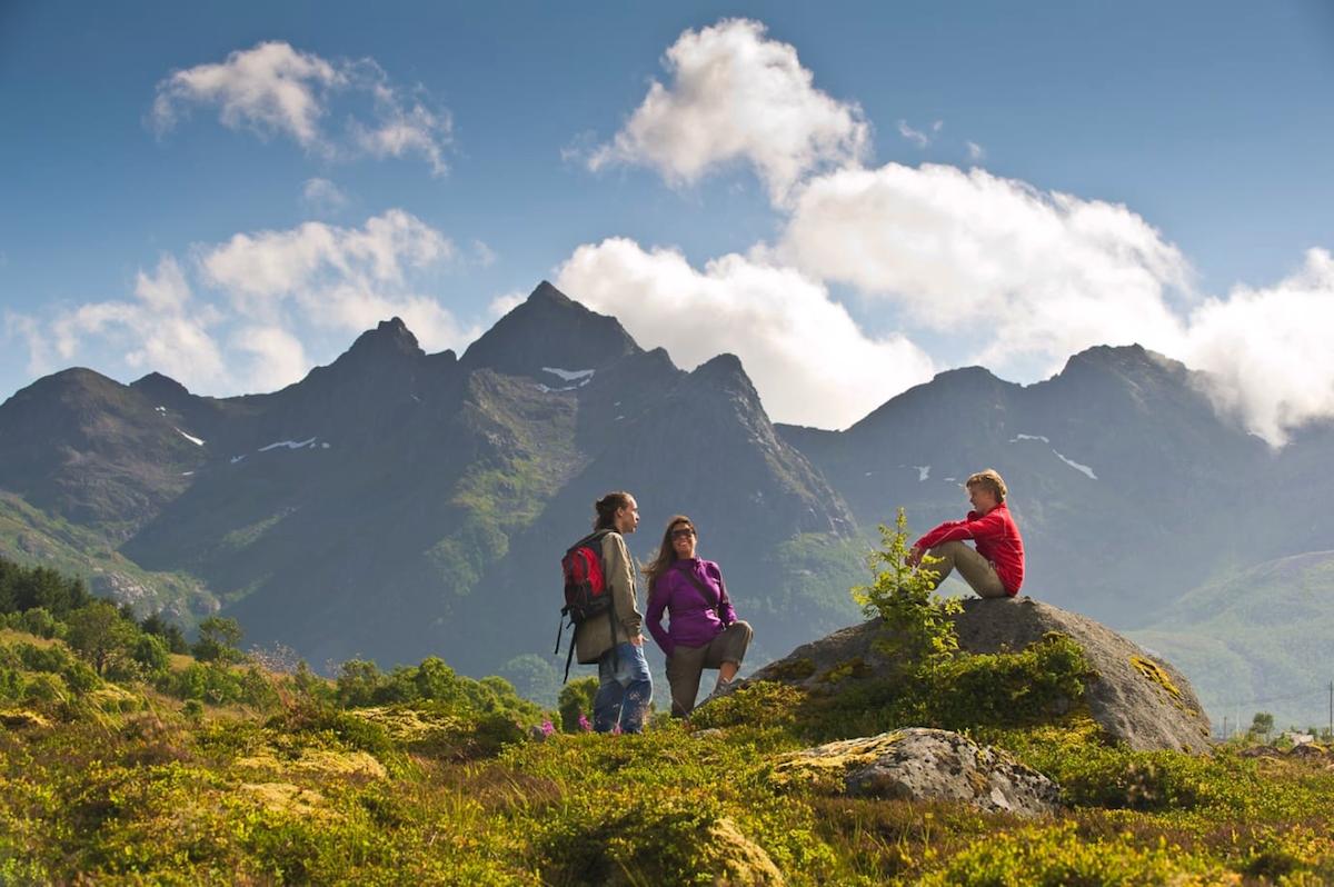 Att vandra i Norge är en magisk upplevelse.