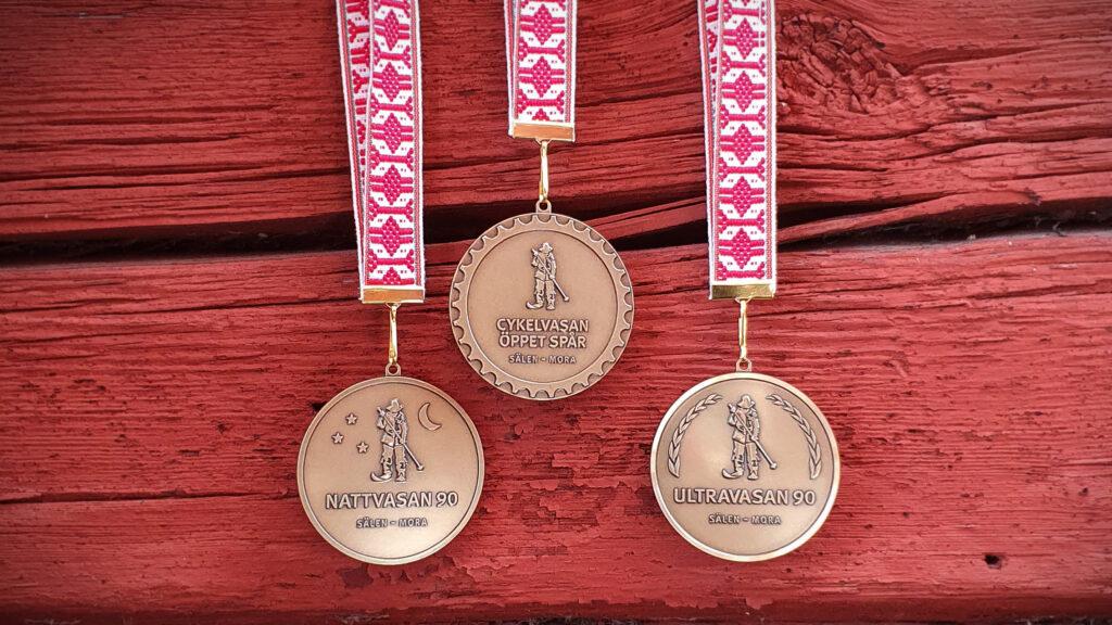 Vasaloppets nya medaljer som introduceras 2020