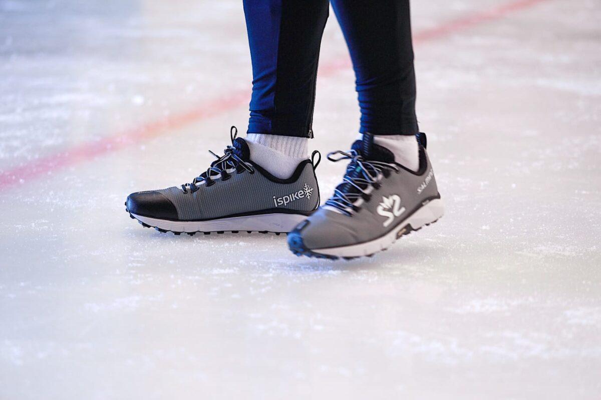 Salming iSpike - löparskor anpassad för vinterlöpning