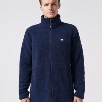 VARM Men's Wool Jacket - Ink blue
