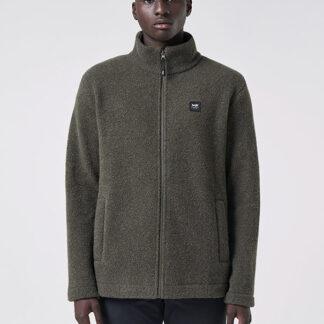 VARM Men's Wool Jacket - Moss green