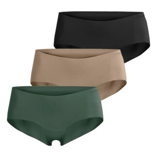 SEASONAL SOLID HIPSTER 3-PACK DUCK GREEN,34