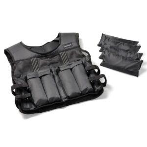 Tunturi Adjustable Weighted Vest 15kg, Viktväst