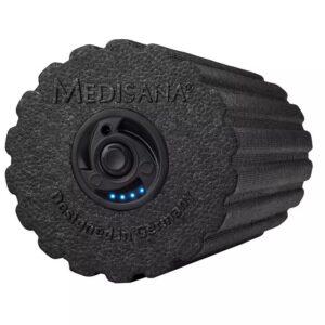 vidaXL Vibrerande massagerulle PowerRoll PRO 15x31 cm svart